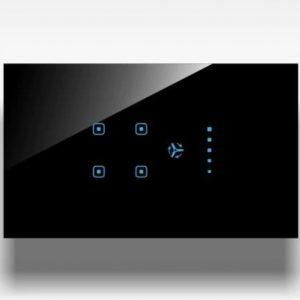 DigiLife Touch 4 Switch + 1 Fan Regulator